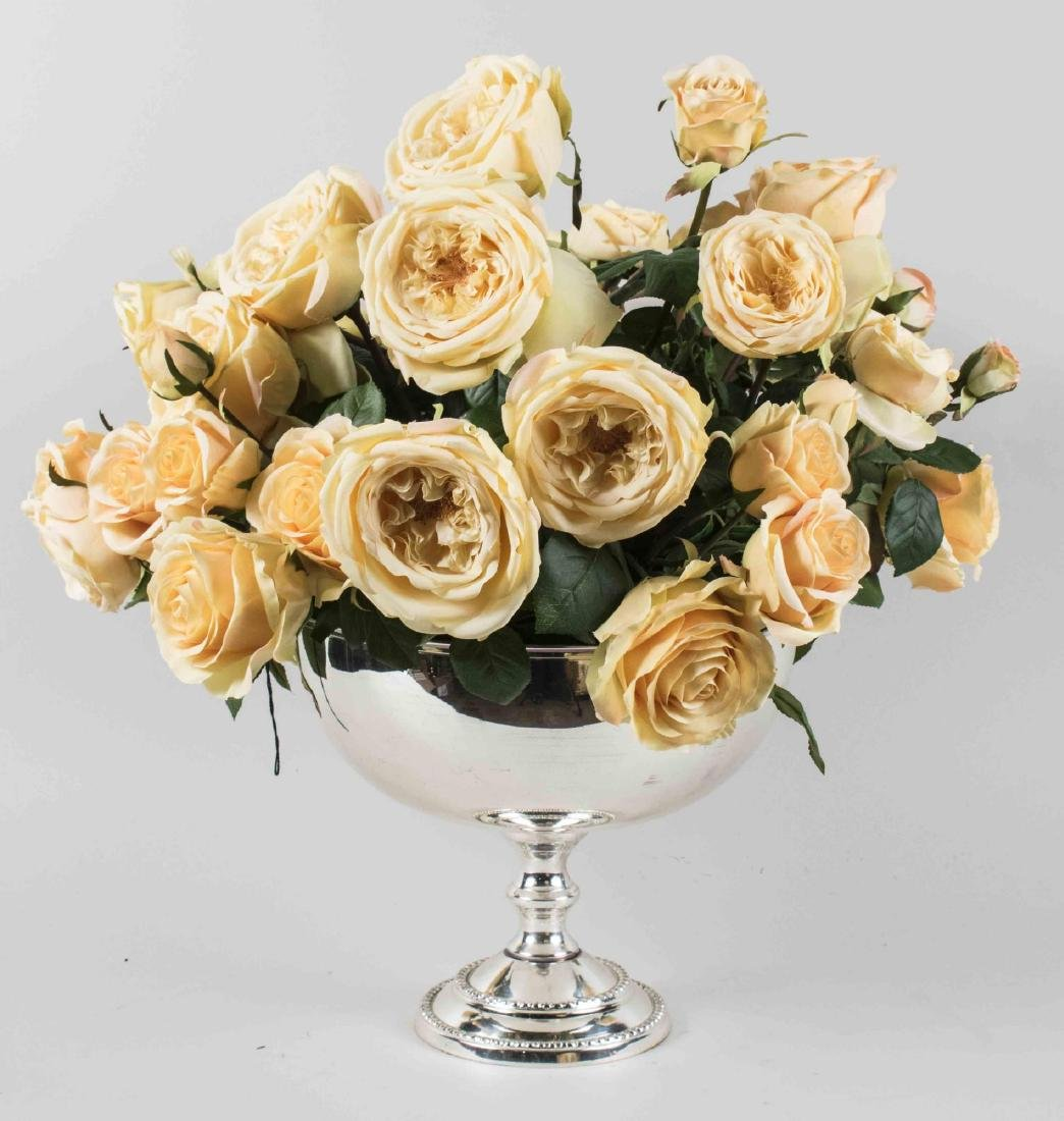 Ivory Colored Rose Arrangement