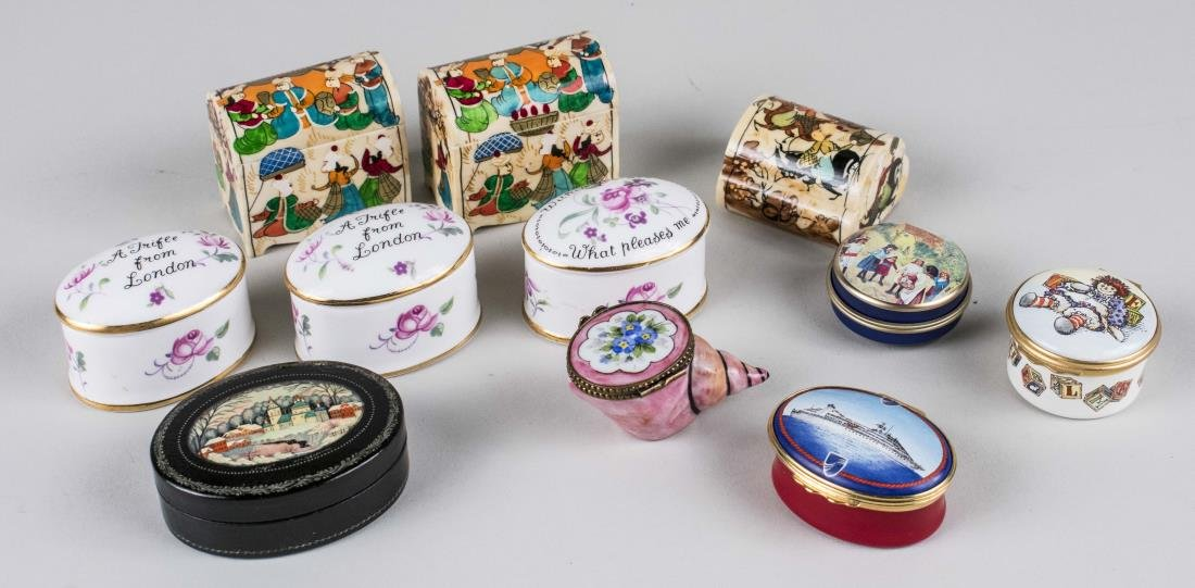 Group of Trinket Boxes