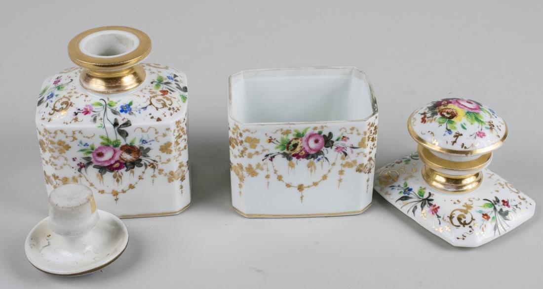 Pair of Porcelain Dresser Bottles - 2