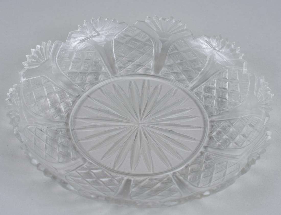Set of Twelve Cut Glass Dessert Dishes - 2