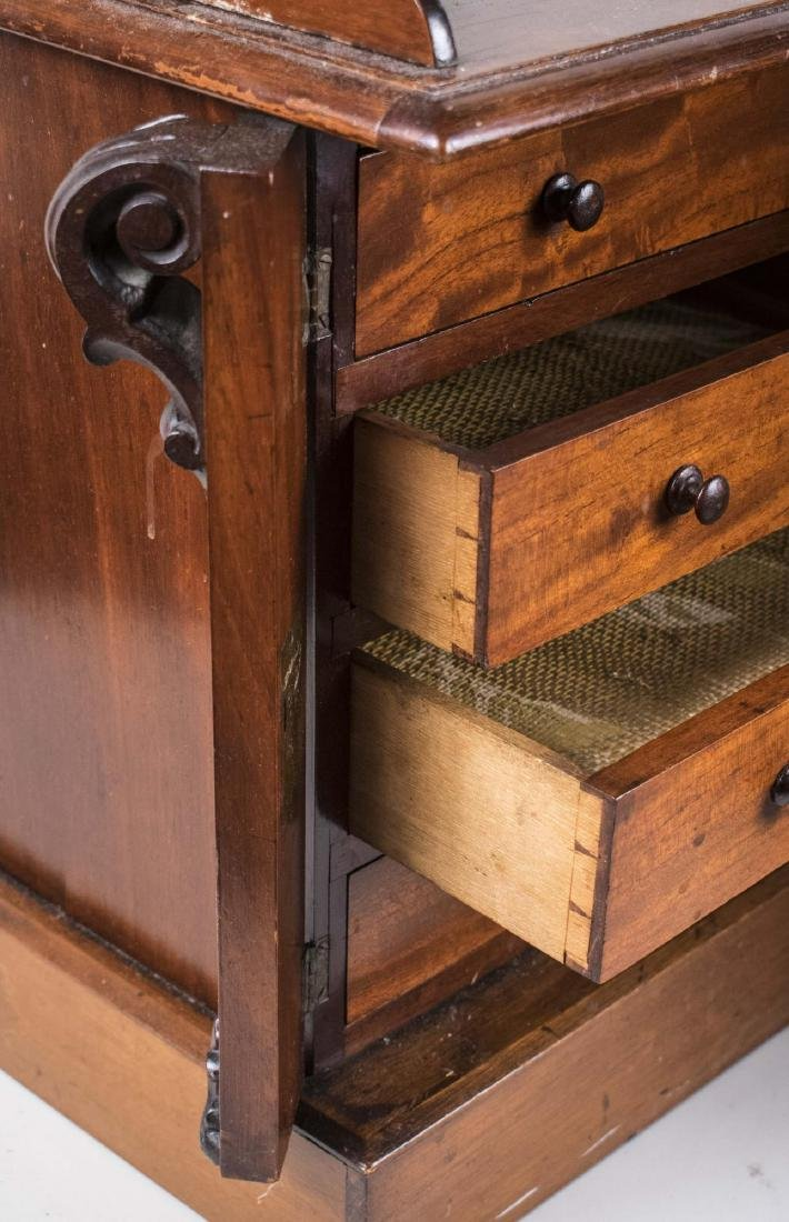 Pair of Miniature Wellington Chests - 2