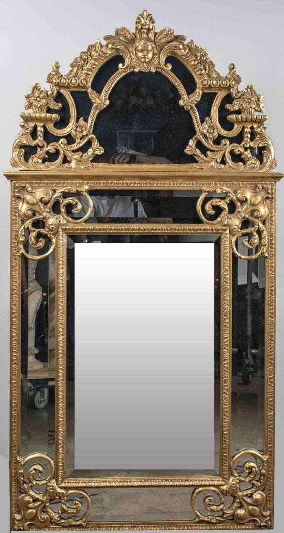 Neoclassical Style Gilt Wood Mirror