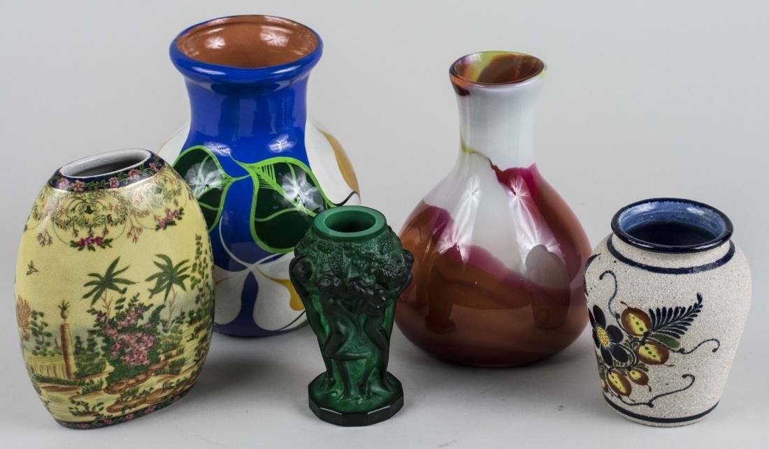 Group of Decorative Vases