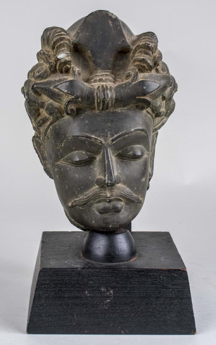 Head of a Man Sculpture