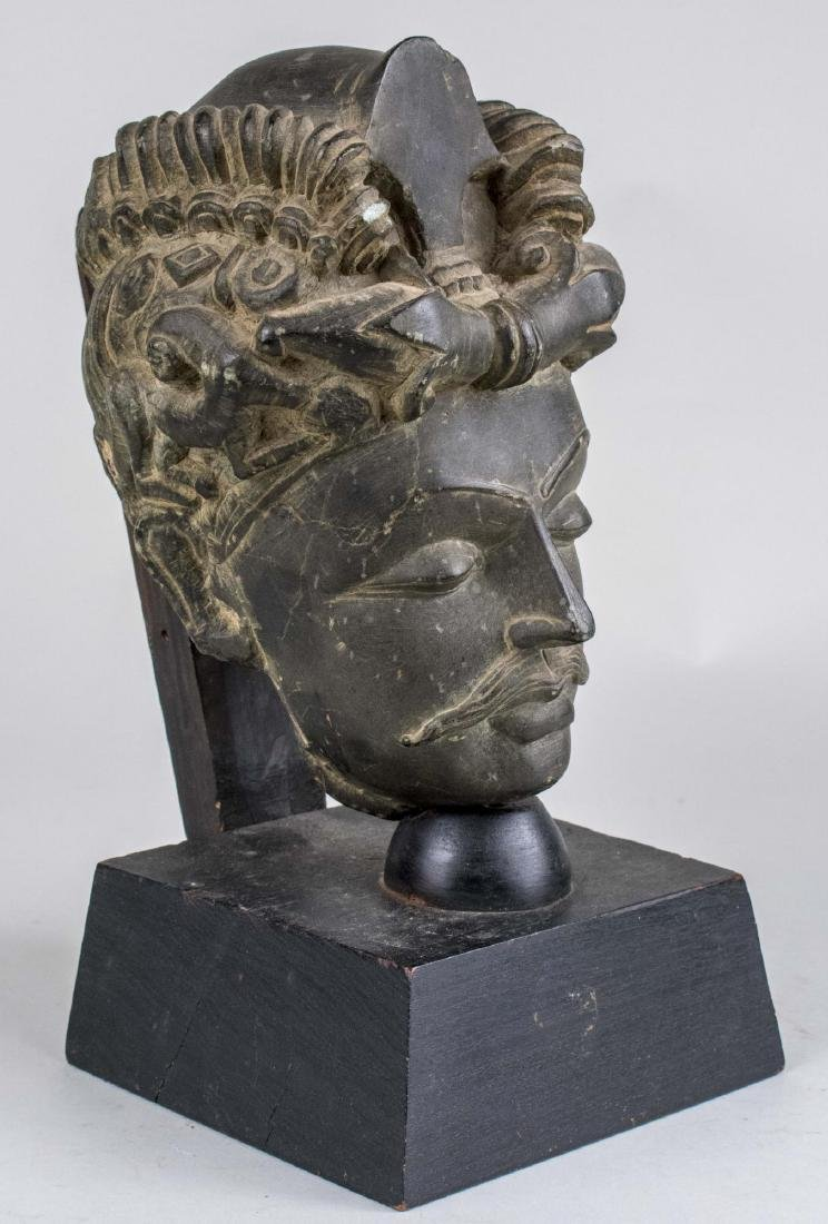 Head of a Man Sculpture - 2