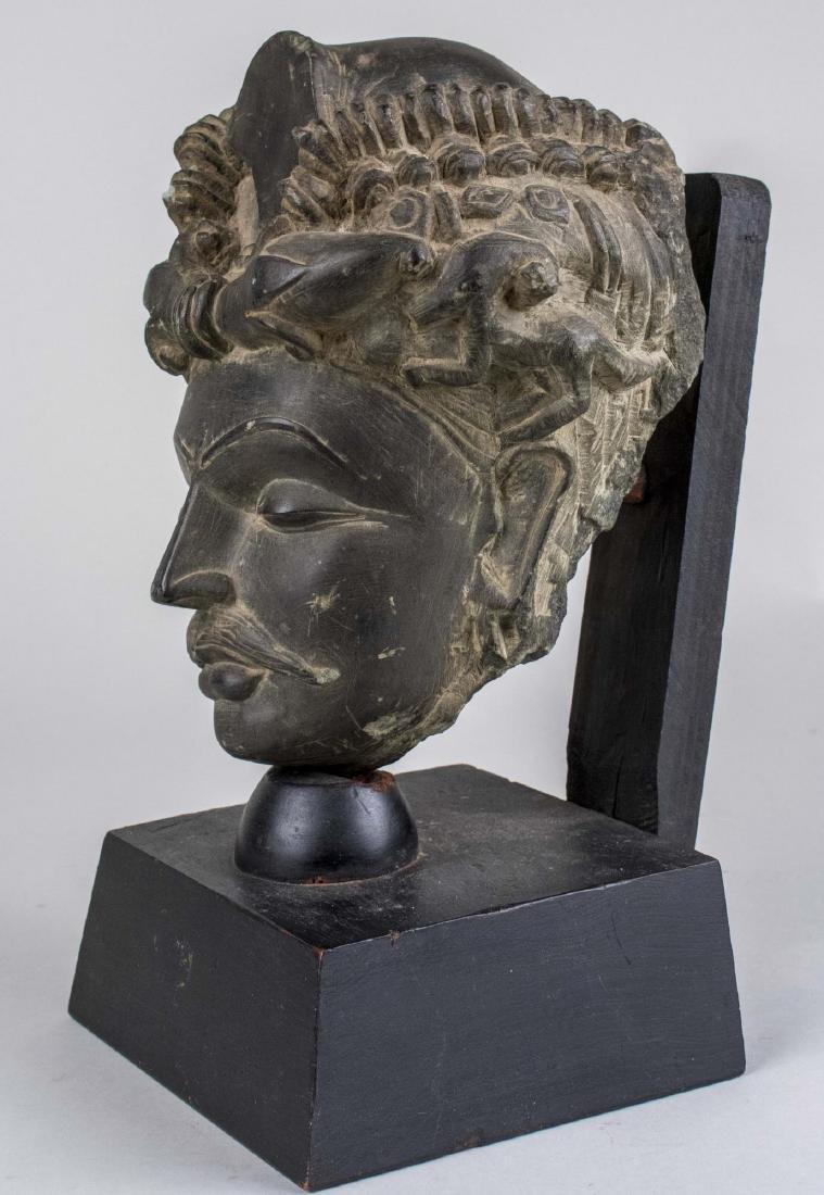 Head of a Man Sculpture - 3