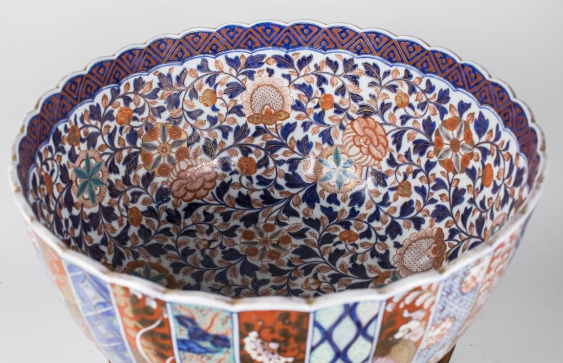 Imari Porcelain Center Bowl - 2