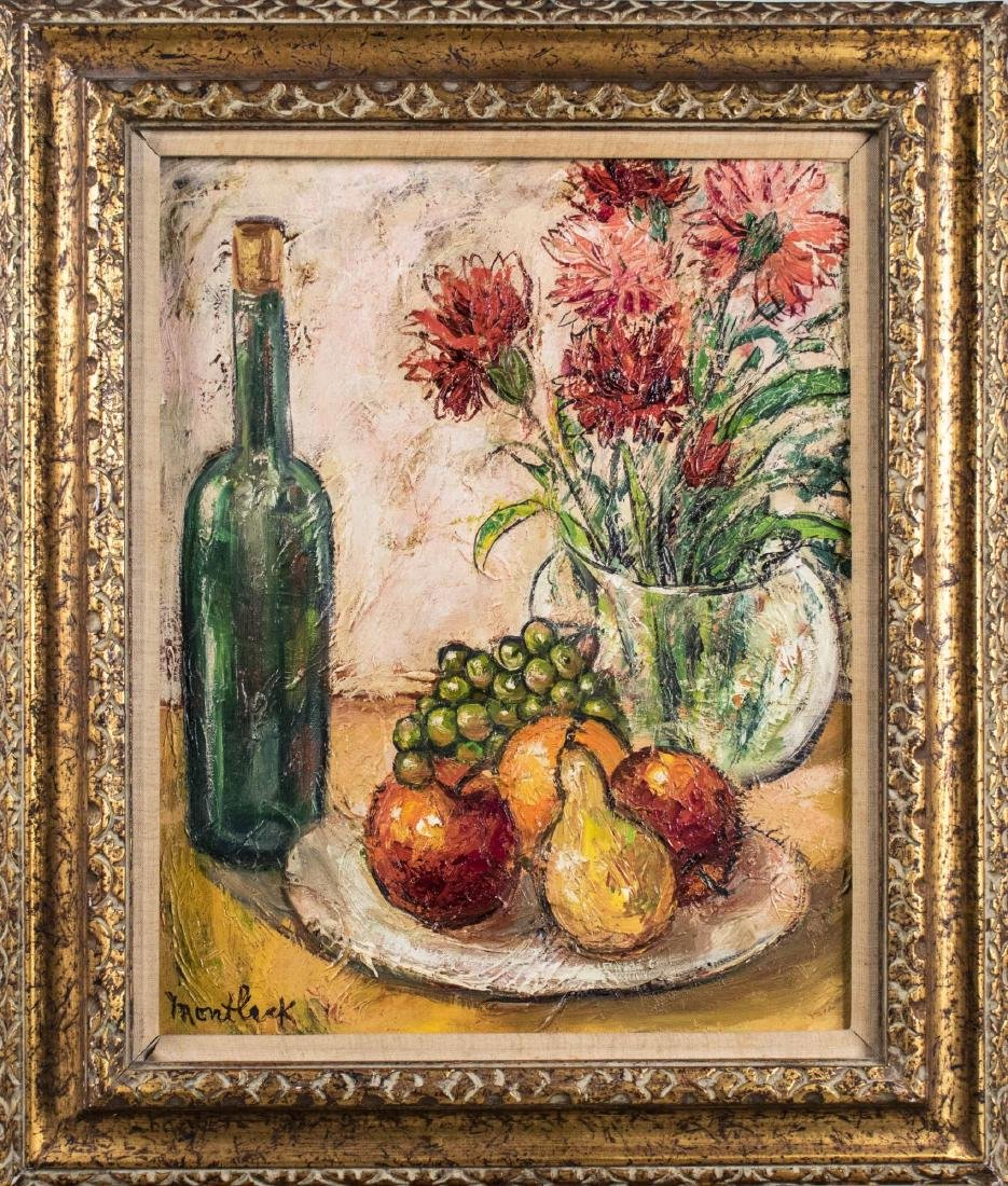 Floral and Fruit Still Life (20th Century)