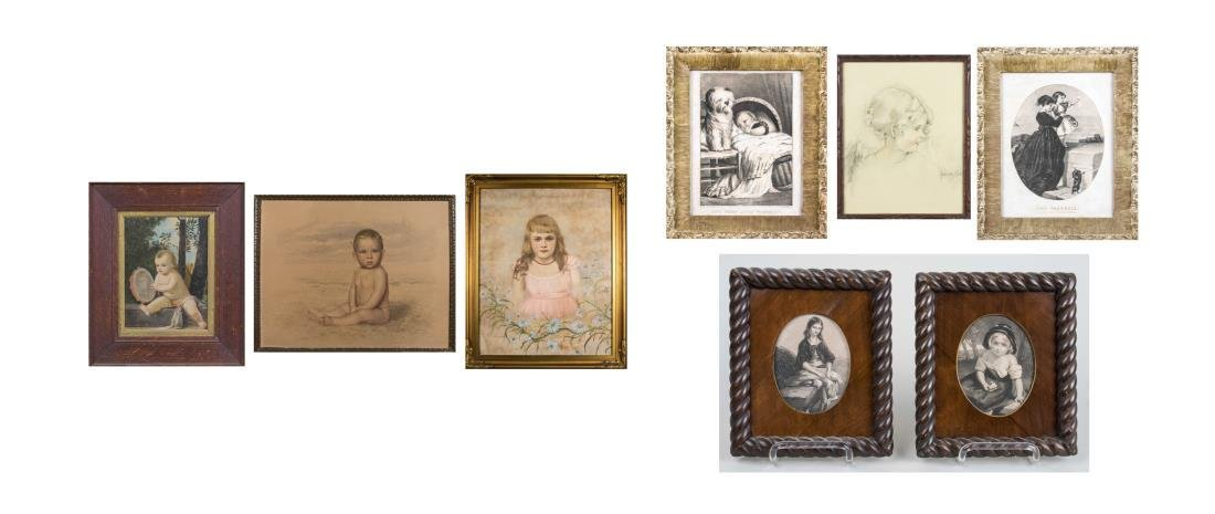 Group of Portraits of Children