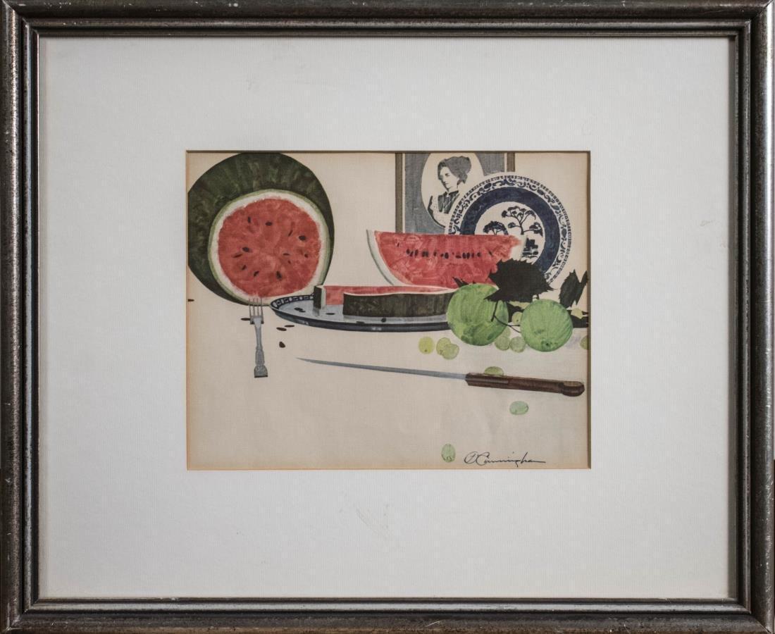 Still Life with Watermelon (20th Century)
