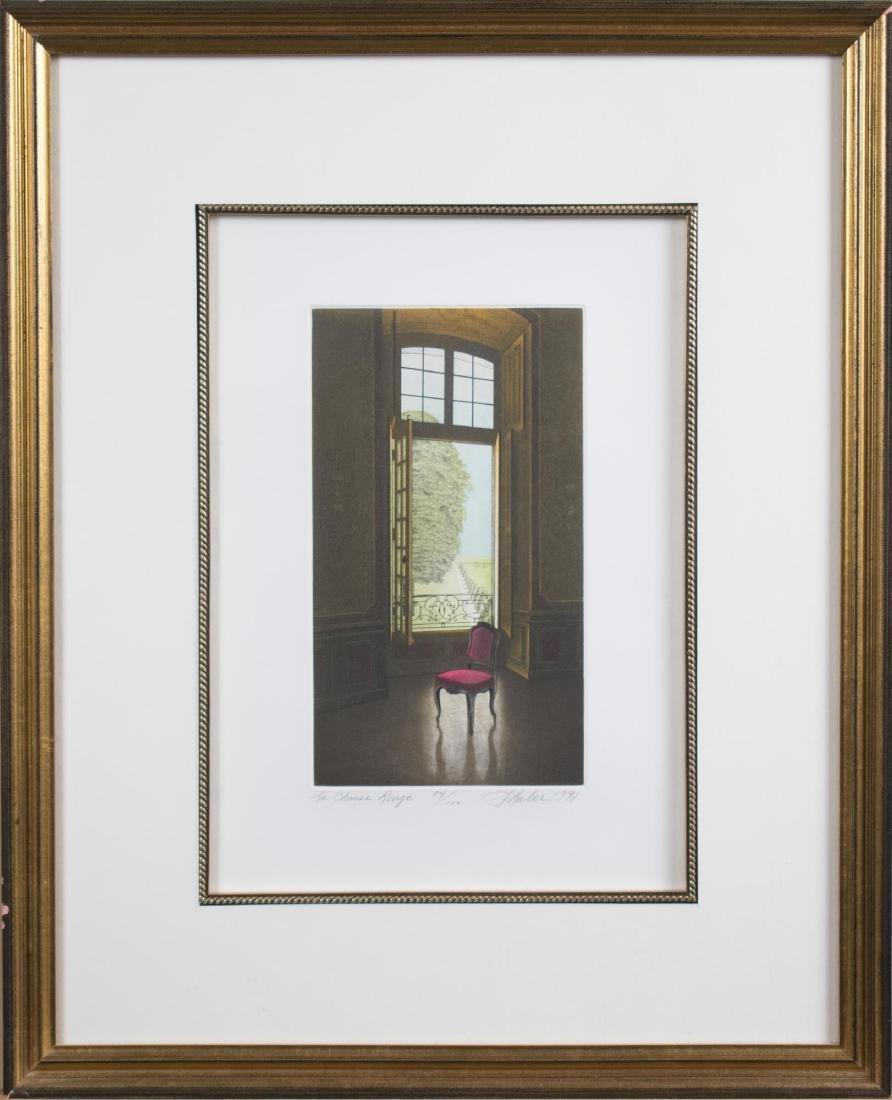 Interior Scene Print (1991)