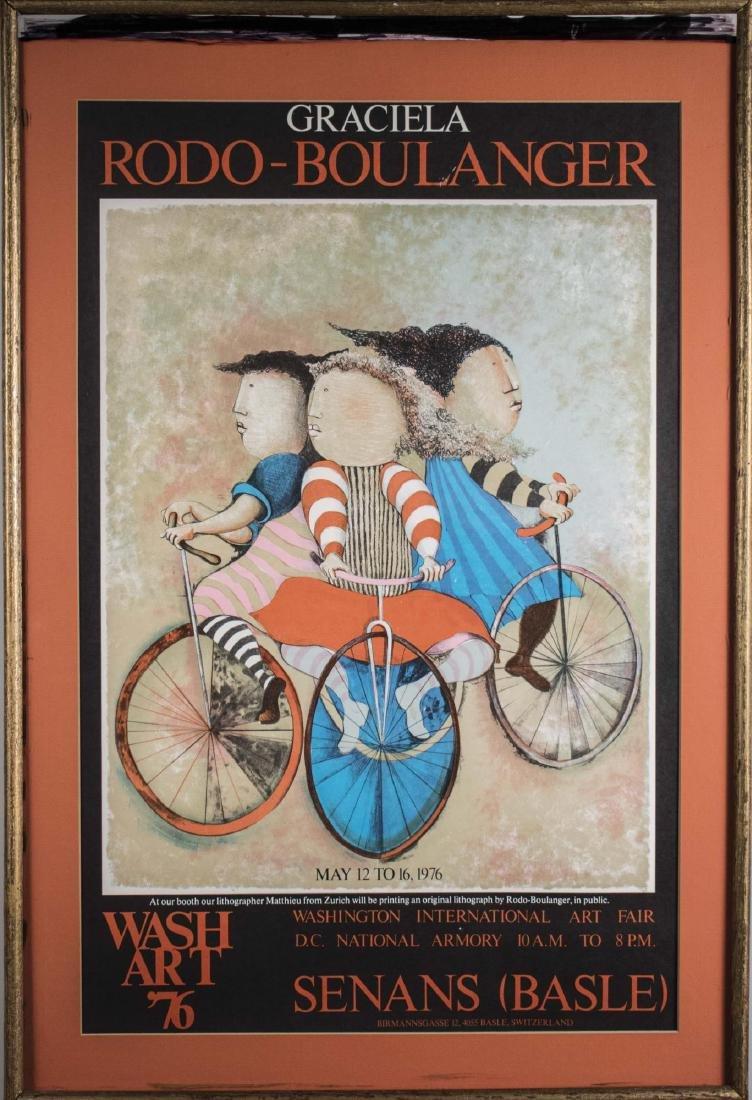 Washington International Art Fair Poster (1976)