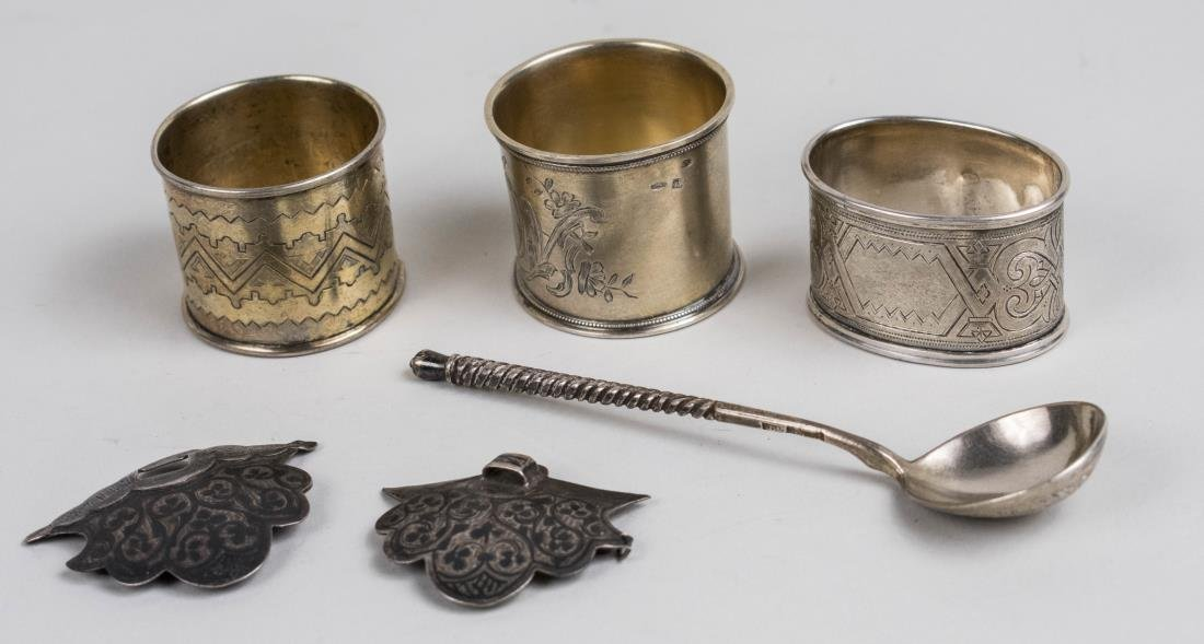 Five Russian Silver Articles