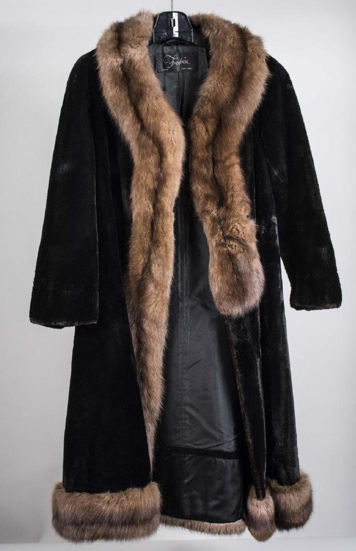 Fredrica Lady's Fur Coat