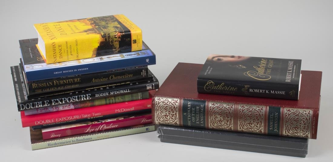 Group of Coffee Table Books