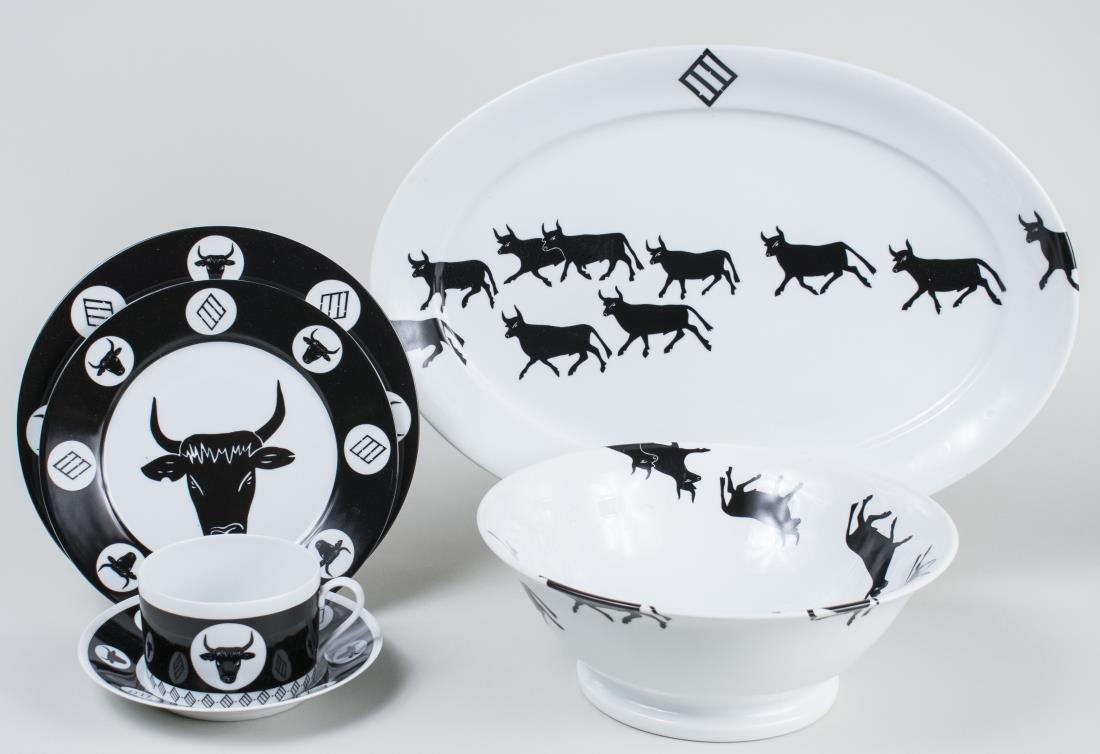 Souleiado Porcelain Dinner Service   *