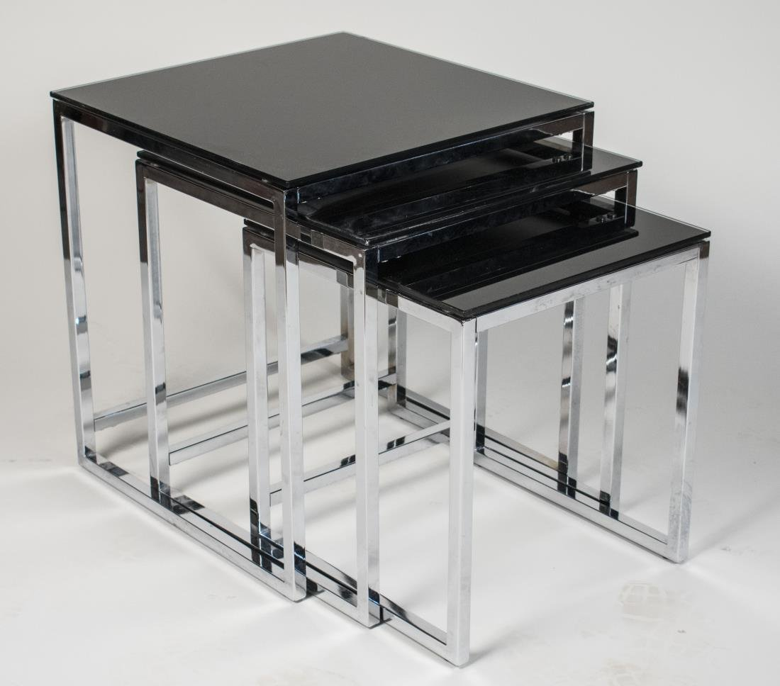Chrome Nest of Tables