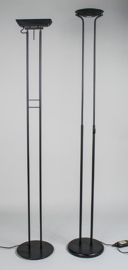 Two Contemporary Floor Lamps