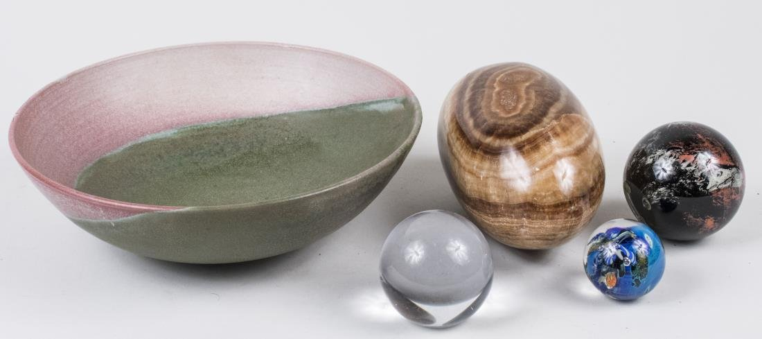Group of Paperweights