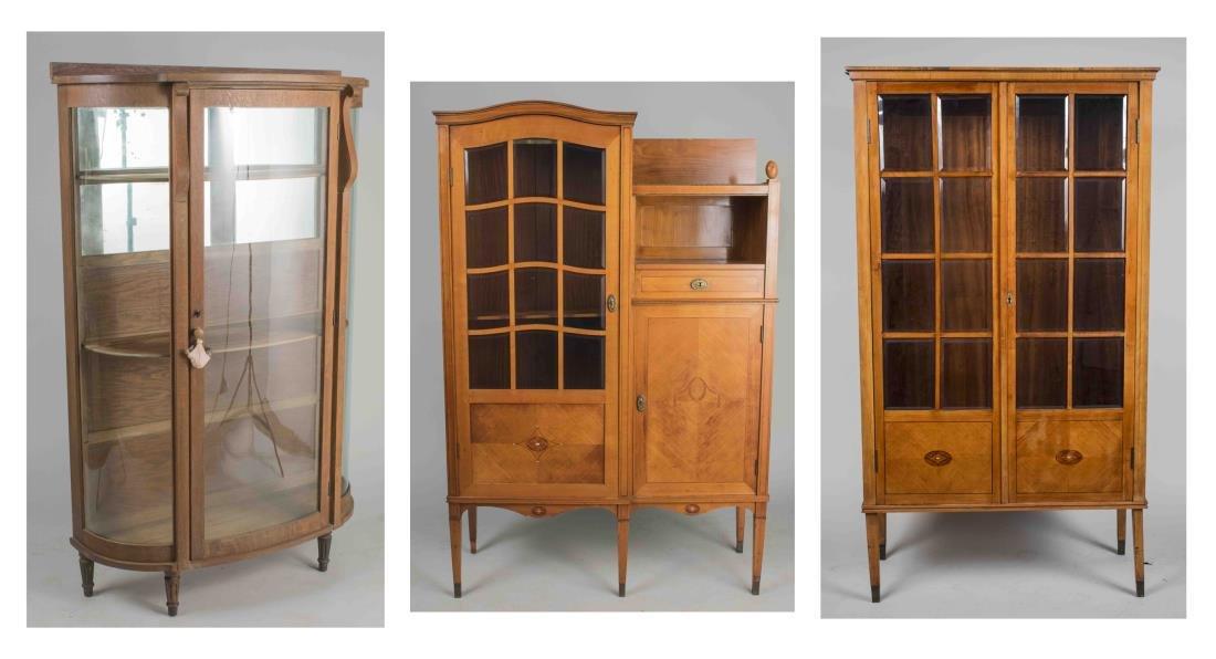 Three Vintage Cabinets