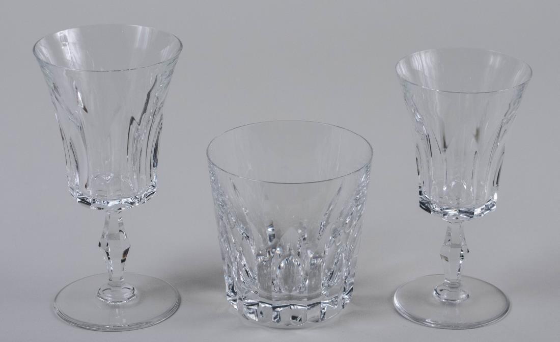 Set of Baccarat Glassware