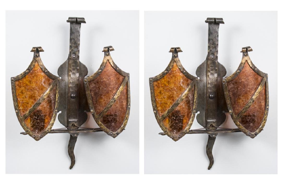 Pair of Renaissance Style Sconces