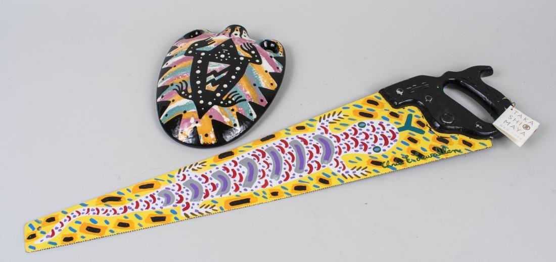 Pair of Lizard Themed Items (20th Century)