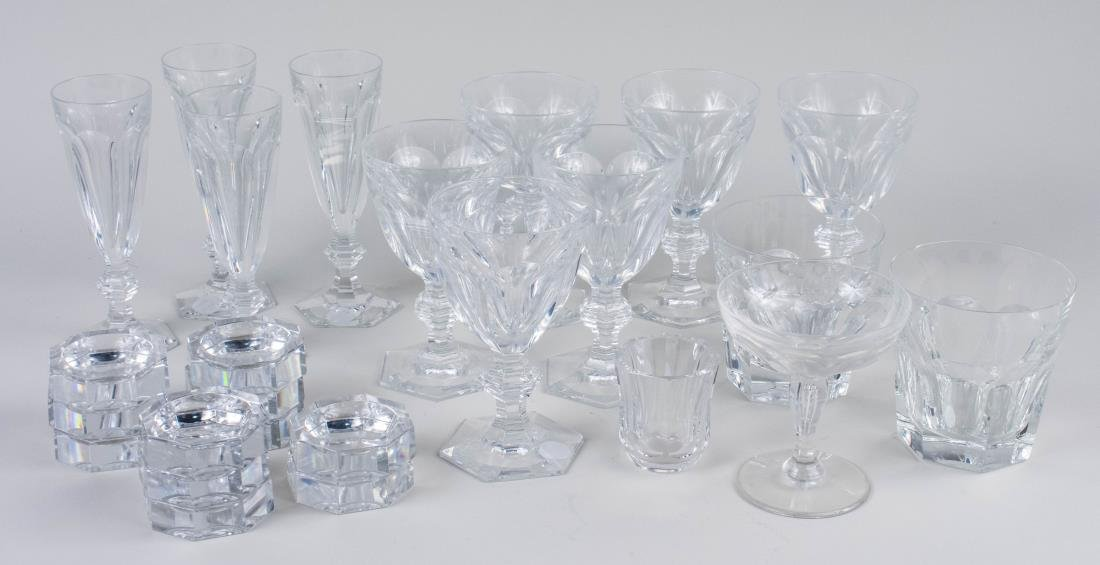 Group of Baccarat Stemware and Glassware