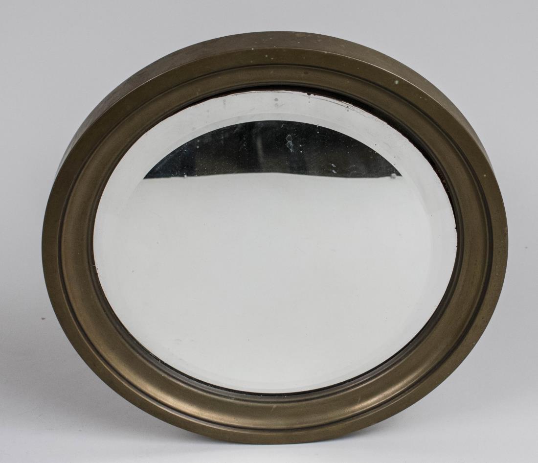 Brass Ship's Mirror