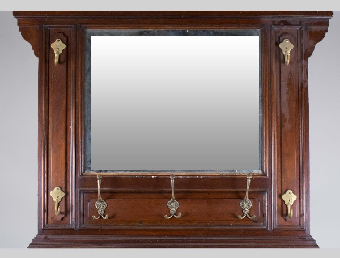 Mahogany Hall Mirror