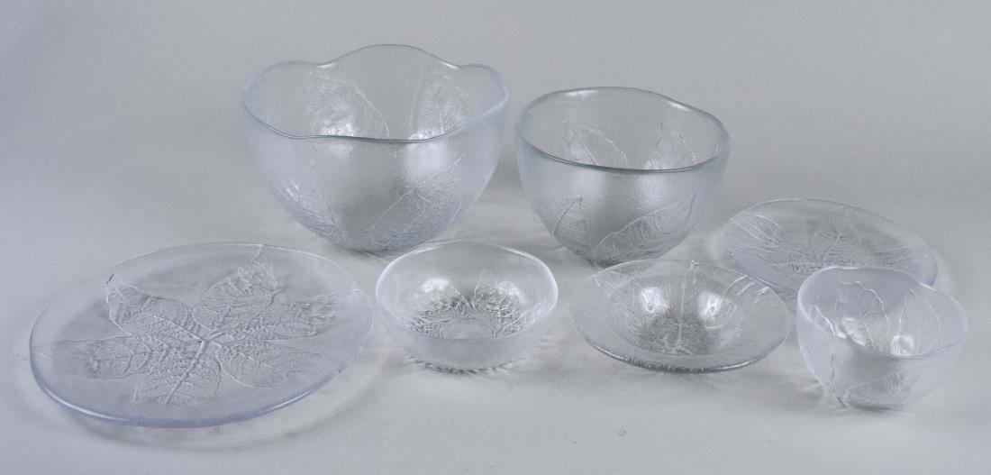 Finnish Glass Dinner Service