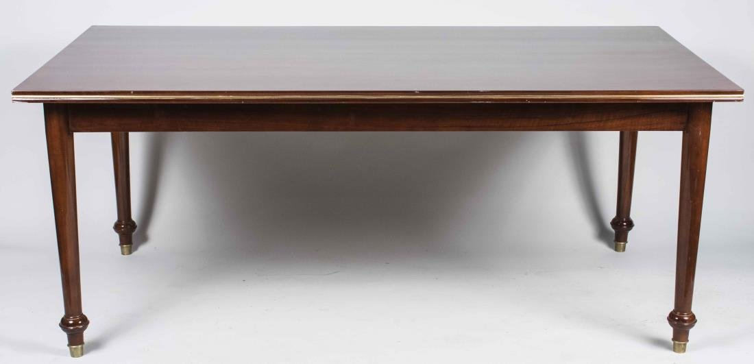 Parquetry Top Dining Table   *