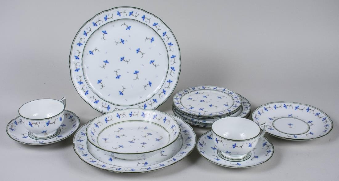Limoges Porcelain Partial Dinner Service