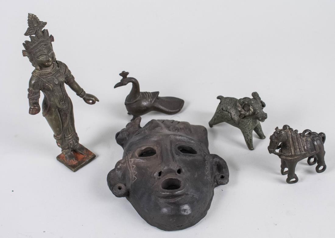 Group of Metal Figures