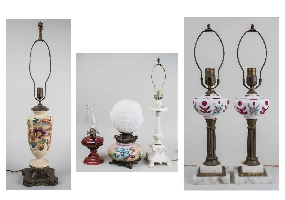 Group of Six Table Lamps