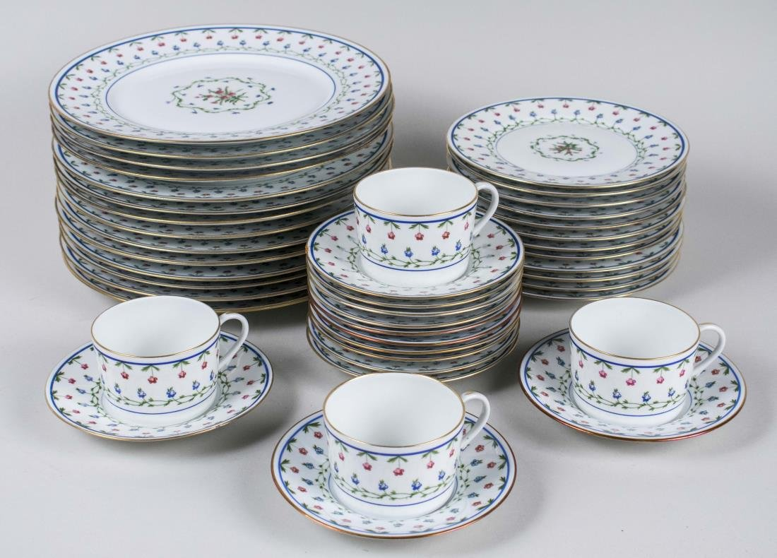 Limoges Porcelain Dinner Service
