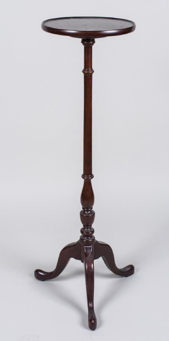Victorian Style Mahogany Plant Stand