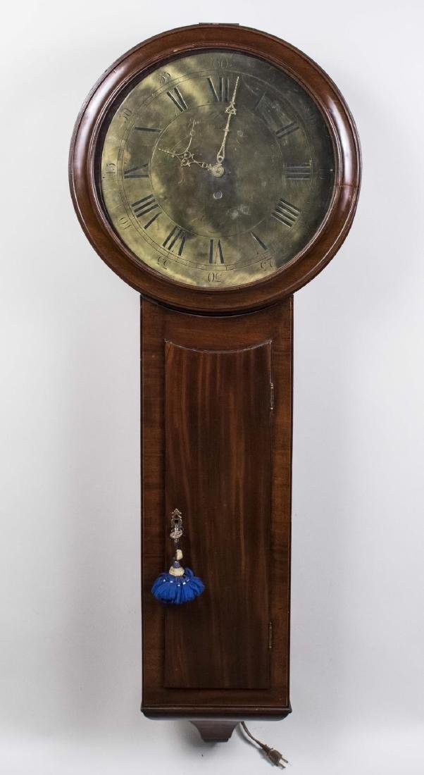 English Clock Dial and Case