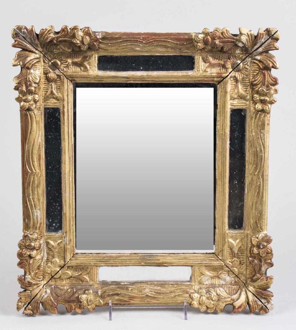 Gilt Wood Mirror Framed Mirror
