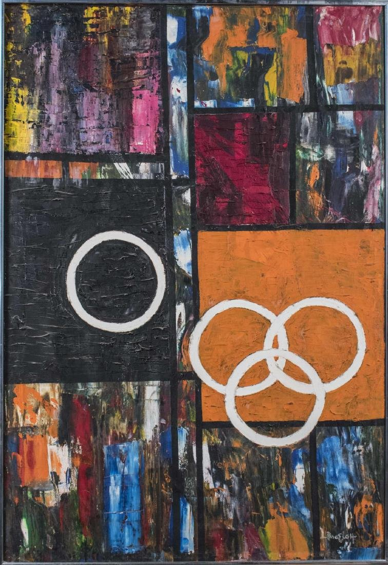 Geometric Abstraction Painting