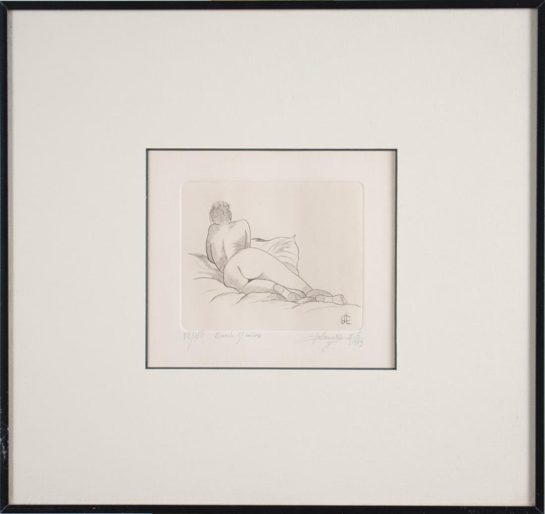 Print of Nude Woman (1979)