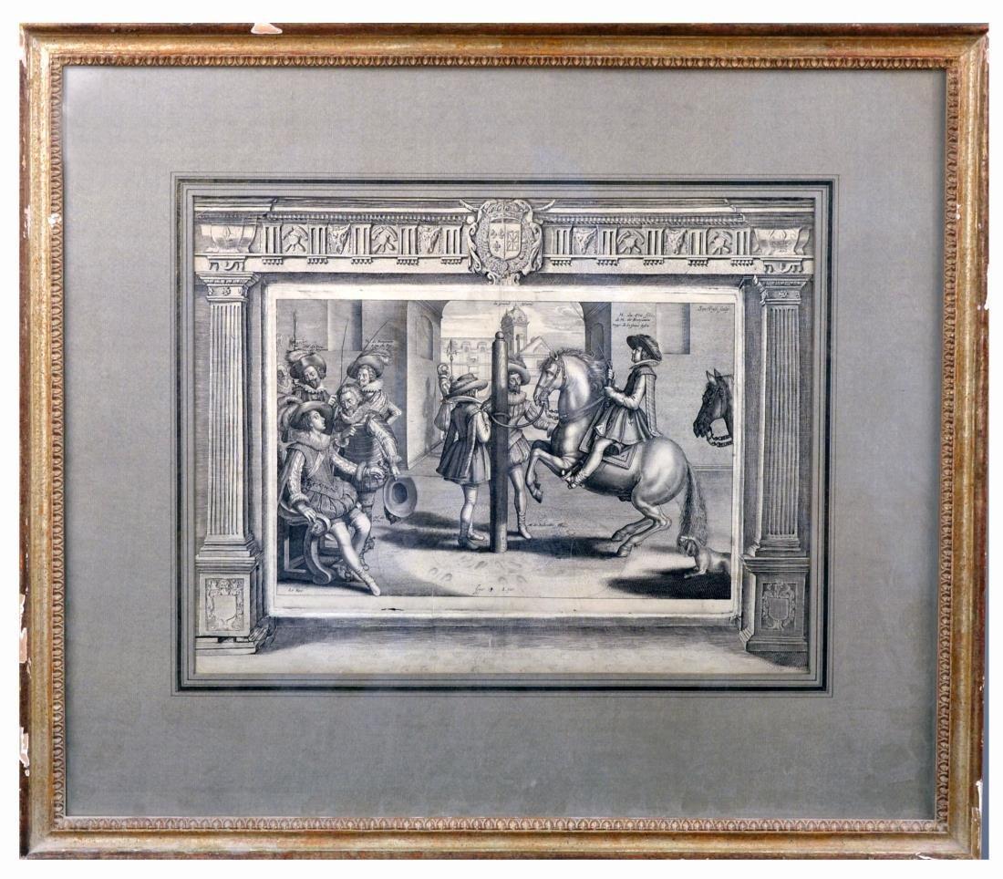 European School Engraving (Circa 16th Century)