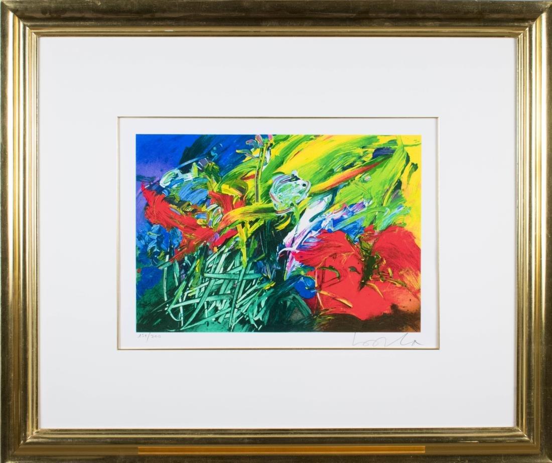 Abstract Garden Print (20th Century)