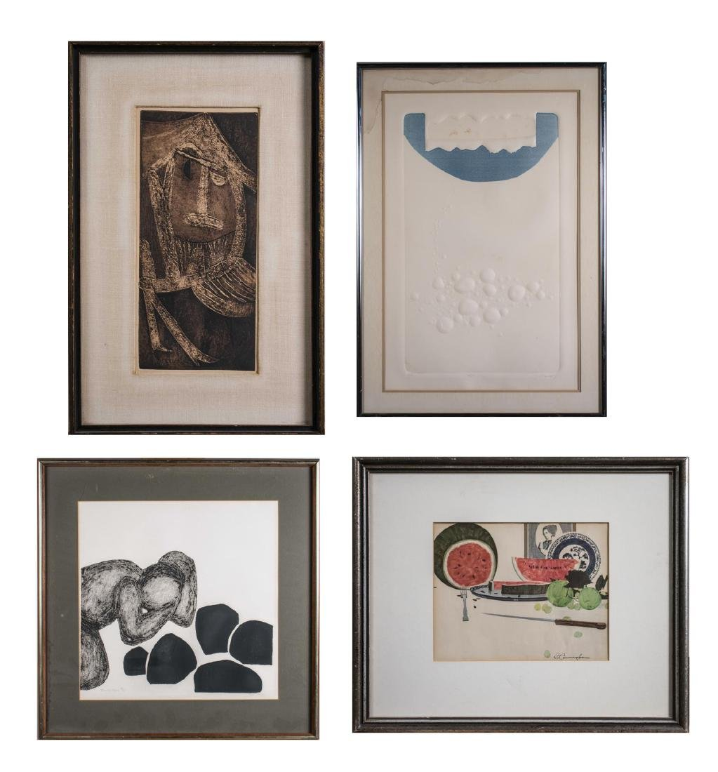 Group of 20th Century Prints