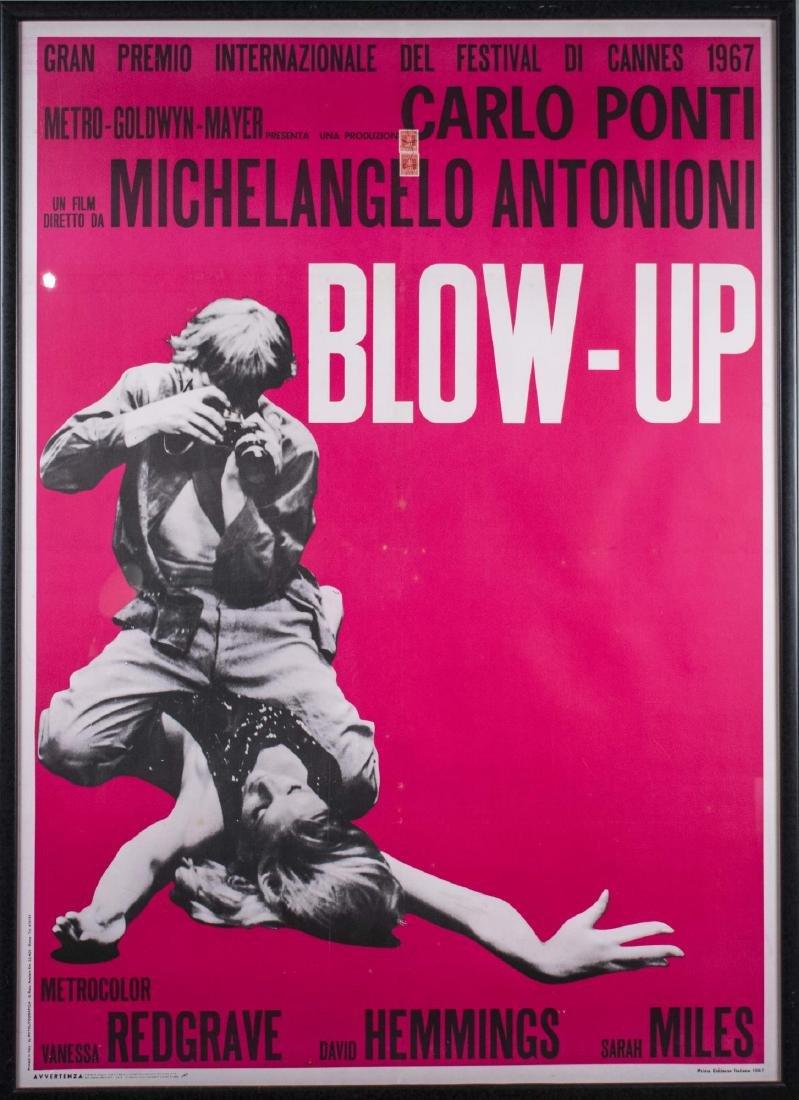 "Antonioni's ""Blow-Up"" Movie Poster (1966)"