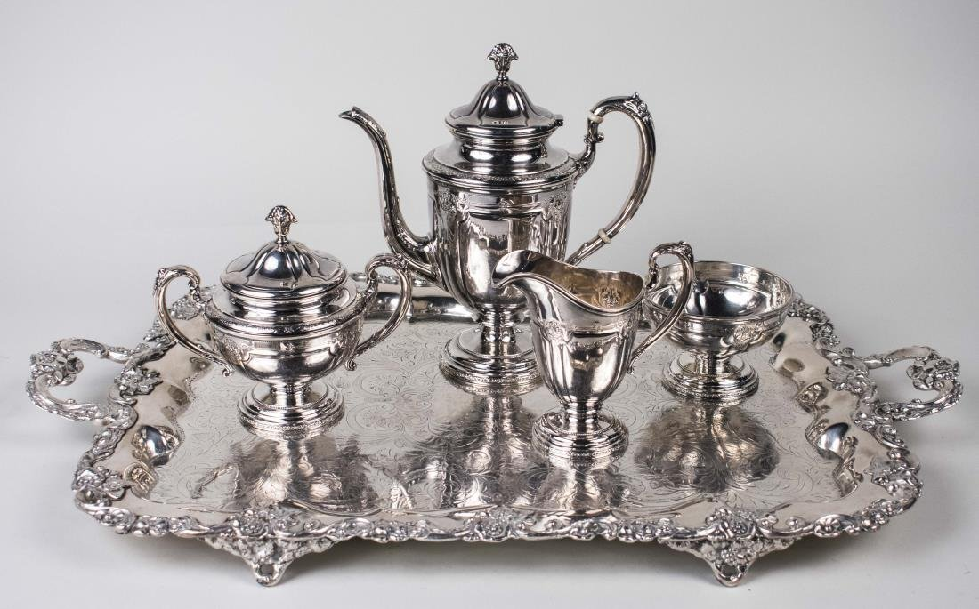 Towle Sterling Silver Coffee Service   *
