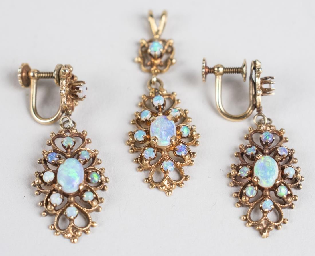 Opal Jewelry Suite