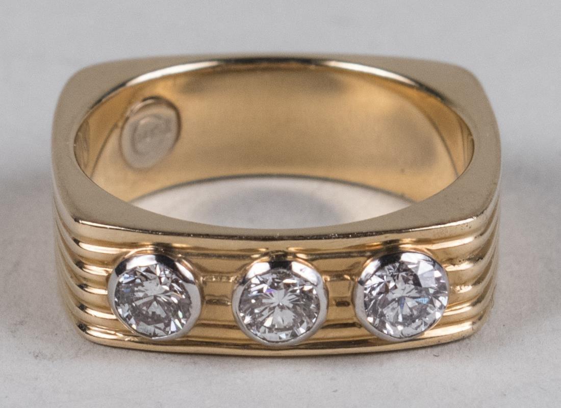 Gentleman's Diamond Ring   *