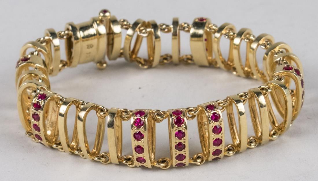 Henry Dunay Gold Bracelet   *