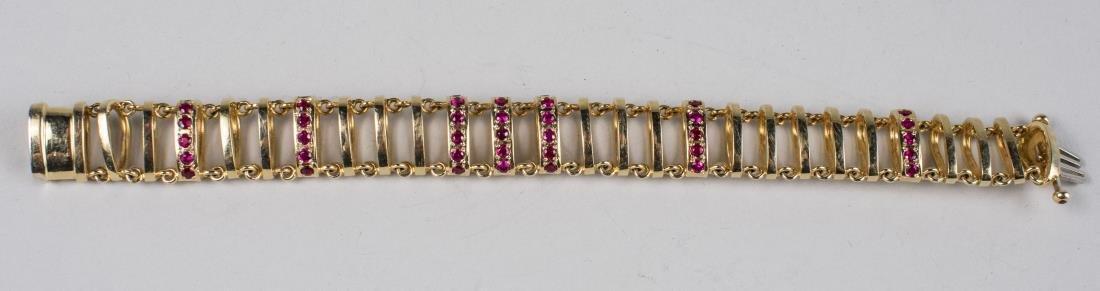 Henry Dunay Gold Bracelet   * - 2
